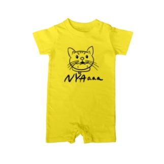 NYAaaaシリーズ Baby rompers