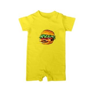 テイクアウトしたくなるハンバーガー Baby rompers