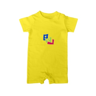 PWL ロゴスタンダード#4 Baby rompers