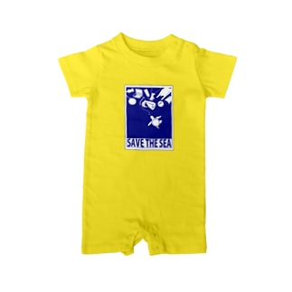 SAVE THE SEA Baby Rompers