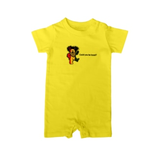 Could you be loved  RASTAベアシリーズ Baby rompers