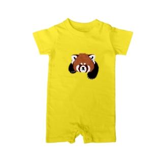 レッサーパンダ Baby rompers