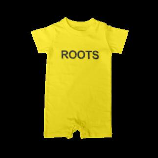 ラーメンROOTSのROOTS公式 Baby rompers