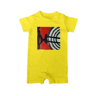 Circle work two Baby rompers