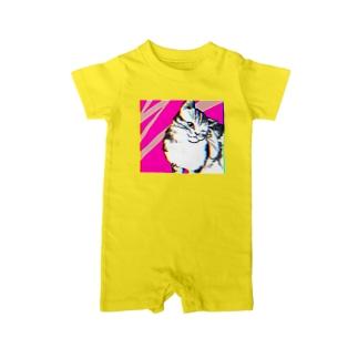 色収差猫 Baby rompers