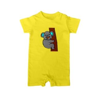 コアラのまさみ Baby rompers