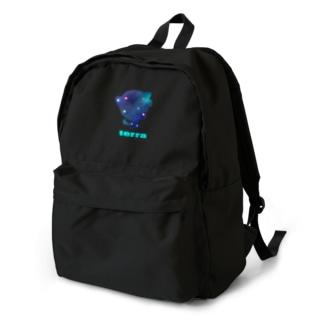 ギャラクシー・テラ Tシャツ Backpack