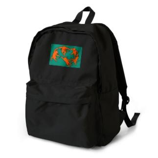 ネコのダンス Backpack