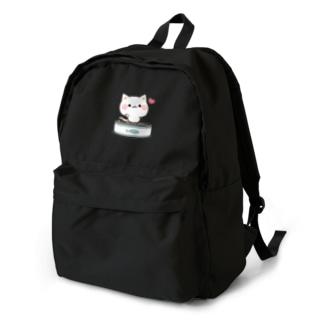気づかいのできるネコ さかな缶 Backpack