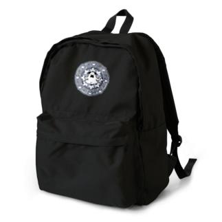 曼荼羅ぷーやん(青) Backpack