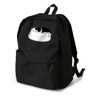 寝るルーカスくん Backpack