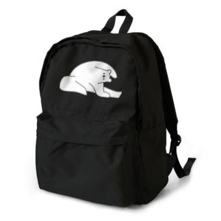 しろくまヨガD Backpack
