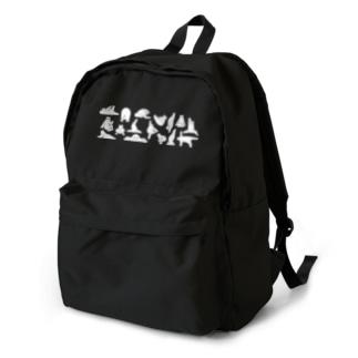 ヨガをするしろくま Backpack