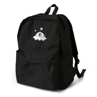 UFO白 backpack