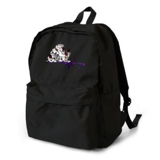 ショートケーキ髑髏添え Backpack