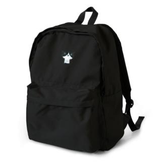 陶器絵ハチワレ猫さん Backpack