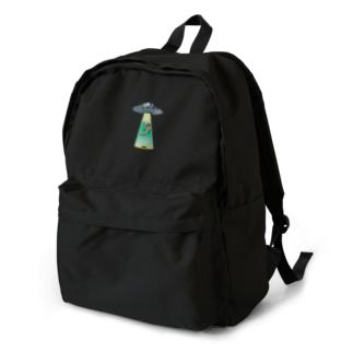 キャトられアオジタ Backpack