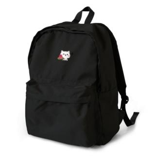 気づかいのできるネコ スイカver. Backpack