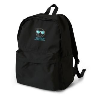サングラス×スマイル🕶(グレー) Backpack