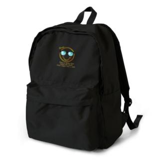 サングラス×スマイル🕶(オレンジ) Backpack