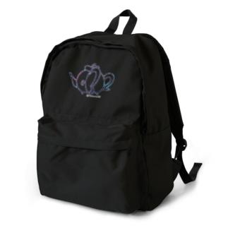 不思議なティーポット☆あっち向き Backpack
