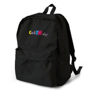 Cosmic TM colors ロゴデザイン Backpack