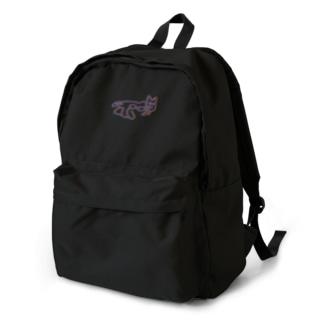 ナスカの地上絵:ネオンカラー backpack