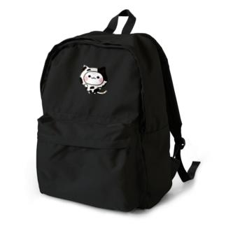 気づかいのできるネコ 牛さんver. Backpack