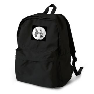 猫とうさぎのお月見A Backpack