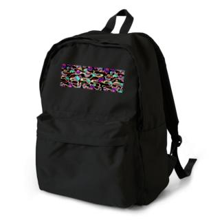 お着物柄 鞠 Backpack