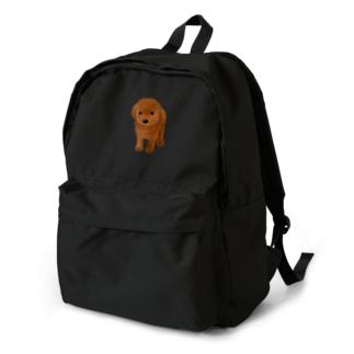 てんとう虫とわんこ Backpack