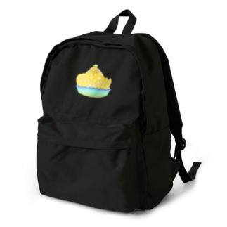 蜂蜜レモンかき氷 Backpack