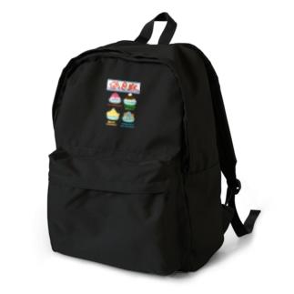 かき氷メニュー Backpack