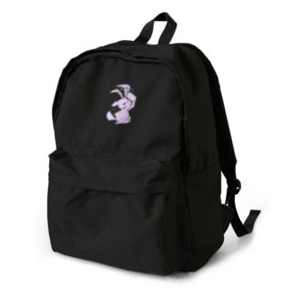 サンガツうさぎ(安全ピン) backpack