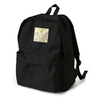 猫に感謝 Backpack