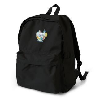 ペンギンとフルーツサワー Backpack