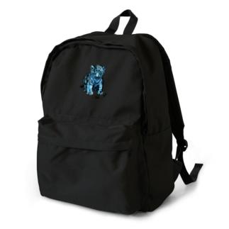 ブルーな子虎 Backpack