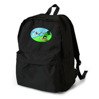マイキャン公認非公式モグモググッズ Backpack