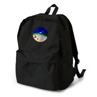 おこじょと富士山 Backpack