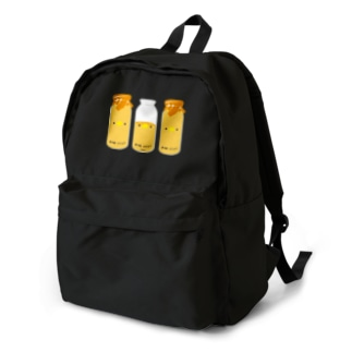 フルーツ牛乳三本セット Backpack