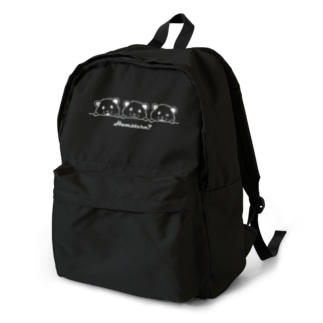 3hamsters white backpack