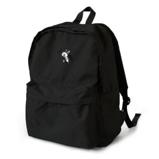 前のめりうさぎ。 backpack
