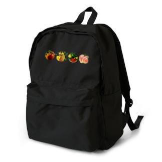 夏のフルーツセット Backpack