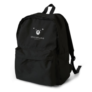 shirokuma_文字入り Backpack