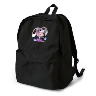 一ノ瀬彩ちびキャラ:LOGO付【ニコイズム様Design】 backpack