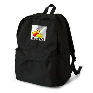 活火オムライス Backpack