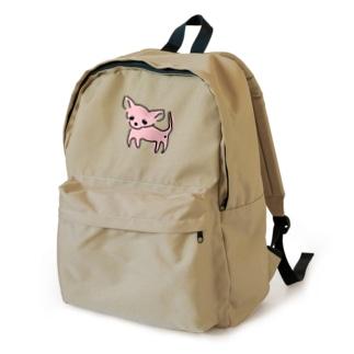 ゆるチワワ(ピンク) Backpack