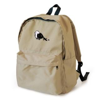 お散歩シマエナガ backpack