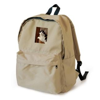 ノスタルジック三毛猫 Backpack