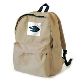 陶器絵夜空のトリさん Backpack